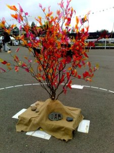 The burning bush as imagined at Greenbelt 2009