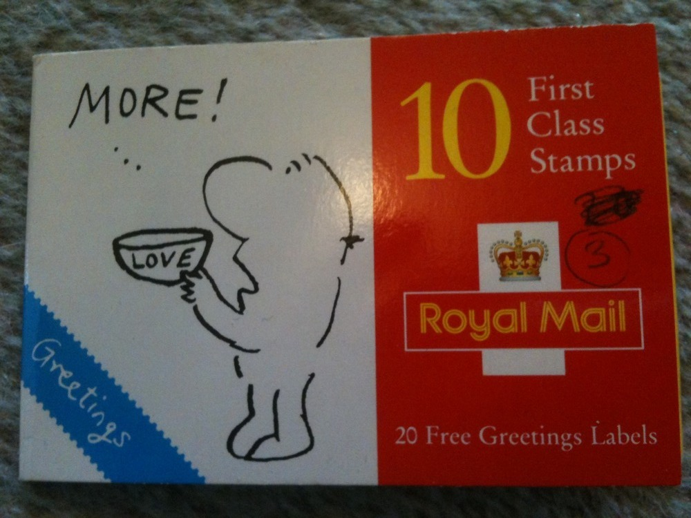 Object 8 royal mail stamp greetings labels from 1996 bryony taylor object 8 royal mail stamp greetings labels from 1996 m4hsunfo