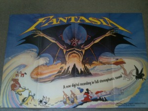 Object #17 Walt Disney Fantasia souvenir poster magazine c.1981