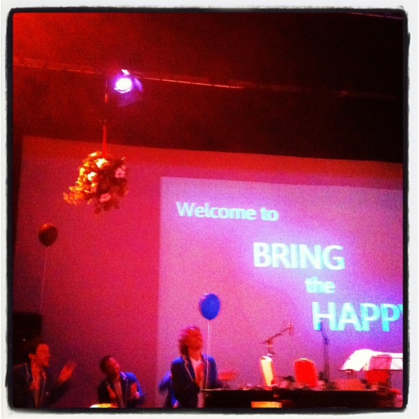 Bring the Happy by @hopeandsocial with @invisibleflock - now available as an album (2/6)