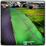 My £14.99 tent that withstood Saturday's storm!