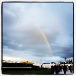 Incredible supernumerary rainbow on Saturday at Greenbelt 2012