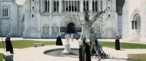 The white tree of Gondor