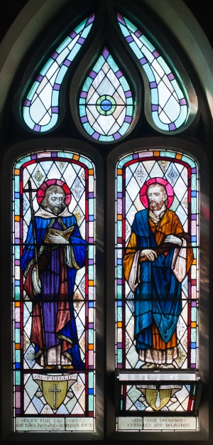 Ballylooby_Church_of_Our_Lady_and_St._Kieran_Nave_South_Window_03_SS._Phillip_and_James_the_Lesser_2012_09_08