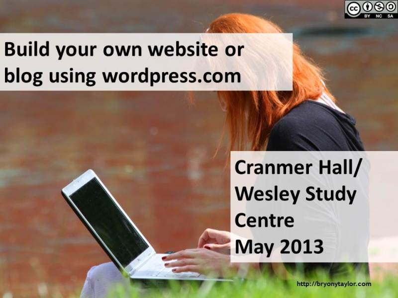 Create your own blog or website with wordpress
