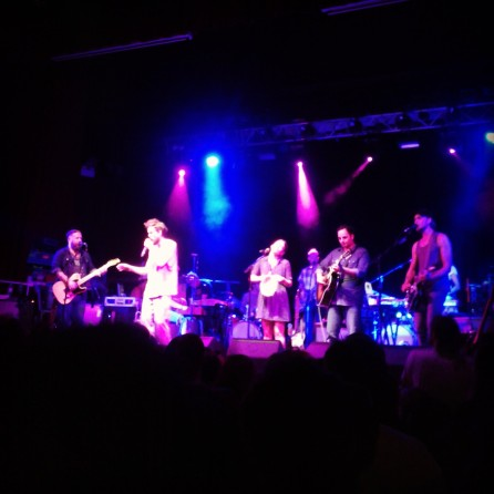 Edward Sharpe and the Magnetic Zeros at the Ritz Manchester 16th July 2013
