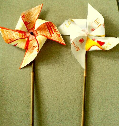 Pentecost Craft Idea Bryony Taylor