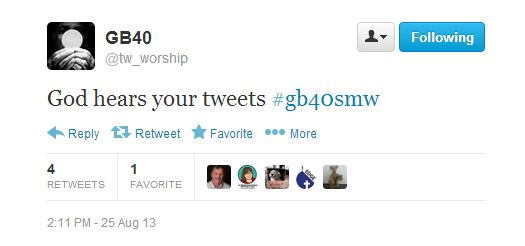tweet at #gb40