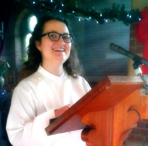 Me preaching at All Saints Church, Southend on Sea on 29th Dec 2013
