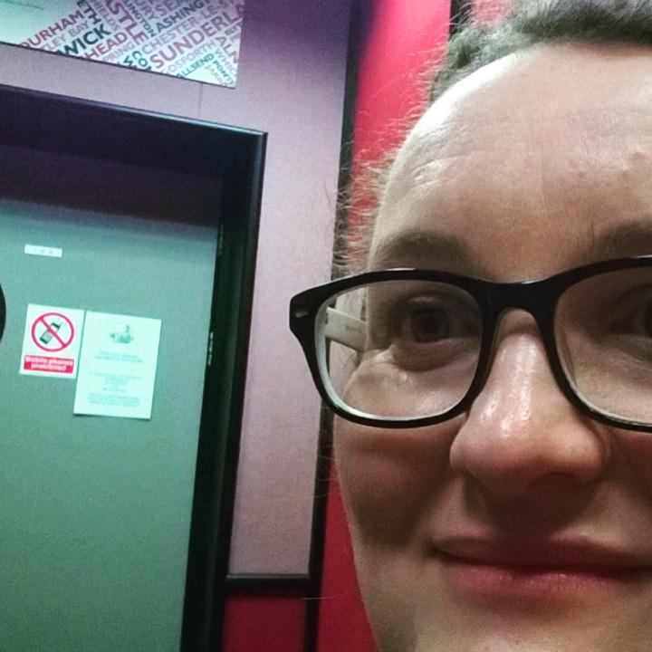 Radio studio selfie!